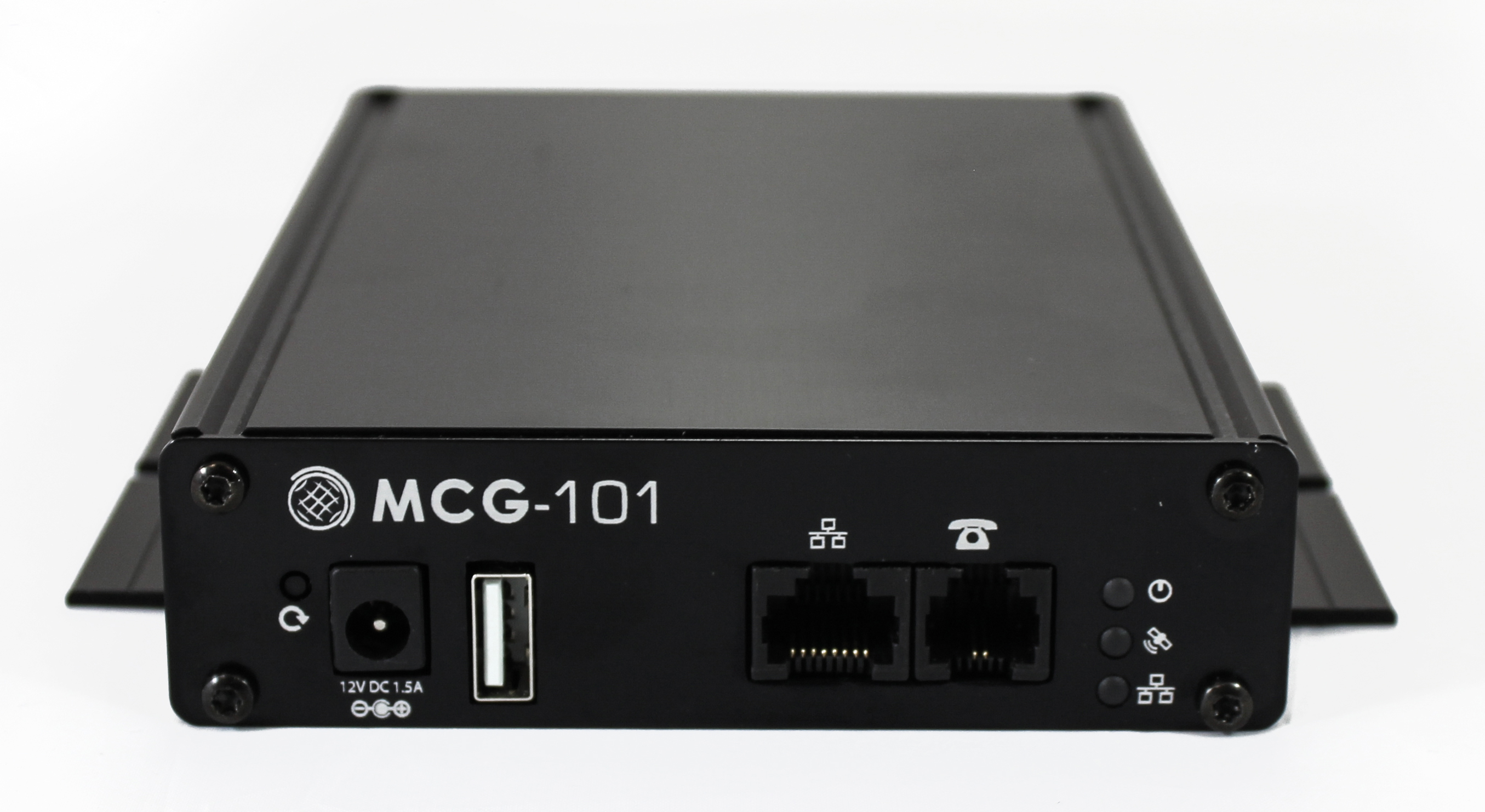 MCG-101 Front & Top View no Antennas