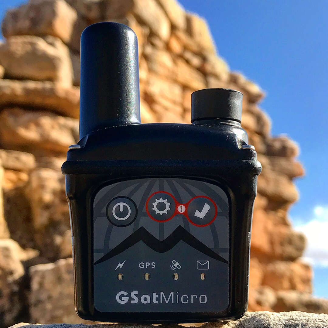 GSatMicro Close up - Tracking at the Canyon of the Ancients, Colorado