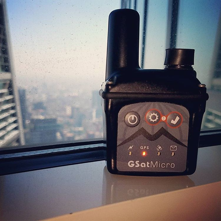 GSatMicro - Tracking in hotel window