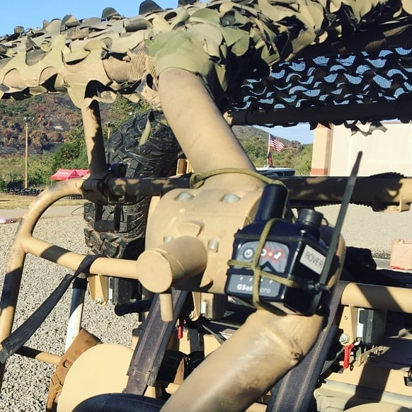 GSatMicro - Tracking at Camp Pendleton North, California